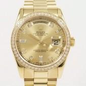 ロレックス 腕時計 新入荷&送料込 デイデイトYG 118348A   自動巻