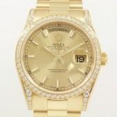 ロレックス 腕時計 新入荷&送料込 デイデイトYG 118388 自動巻
