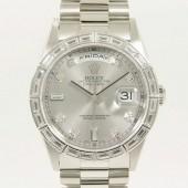 ロレックス 腕時計 新入荷&送料込 デイデイトPT 18366A 自動巻