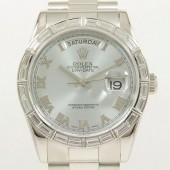 ロレックス 腕時計 新入荷&送料込 デイデイトPT 118366 自動巻