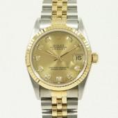 ロレックス 腕時計 新入荷&送料込 デイトジャストコンビ 68273G 自動巻