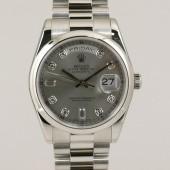 ロレックス 腕時計 新入荷&送料込 デイデイトPT 118206A   自動巻
