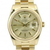 ロレックス 腕時計 新入荷&送料込 デイデイトYG 118238   自動巻