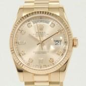 ロレックス 腕時計 新入荷&送料込 デイデイトPG 118235(8)A 自動巻