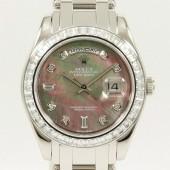 ロレックス 腕時計 新入荷&送料込 デイデイトPT 18956BRIL  自動巻