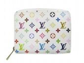 Louis Vuitton 激安 ルイヴィトン 新品 モノグラム・マルチカラー 財布 コインケース カードケース ジッピー・コインパース ブロン M66548
