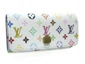Louis Vuitton 激安 ルイヴィトン 新品 マルチカラー 4連キーケース ミュルティクレ4 ブロンxレザン(ブルー) M93730