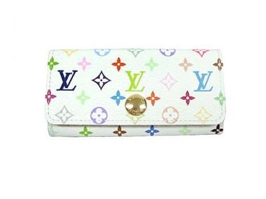 Louis Vuitton 激安 ルイヴィトン 新品 マルチ 4連キーケース ミュルティクレ4 ブロン M60043