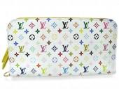 Louis Vuitton 激安 ルイヴィトン 新品 マルチカラー 財布 ポルトフォイユ・アンソリット ブロンxシトロン(イエロー) M93750