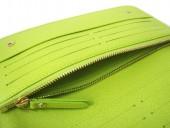 Louis Vuitton 激安 ルイヴィトン 新品 マルチカラー 財布 ポルトフォイユ・アンソリット ノワールxピスタッシュ(グリーン) M93755