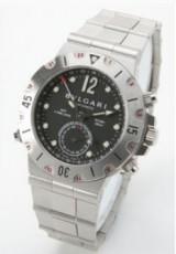 ブルガリ 新作&送料込(BVLGARI) ブラック メンズ SD38SSD.GMT