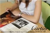 カルティエ 新作 新入荷&送料込(CARTIER) パールピンク/シルバー レディース W20126X8