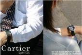 カルティエ 新作 新入荷&送料込(CARTIER) ブラック/シルバー ボーイズ W20106X8