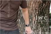 IWC 新作&送料込 ブラック メンズ IW322703