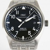 IWC 新作&送料込 ブラック メンズ IW325504