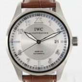 IWC 新作&送料込 ブラウン/シルバー メンズ IW325502