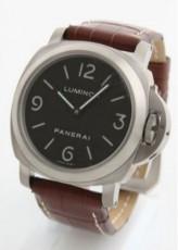 パネライ 新作&送料込(PANERAI)ブラウン/ブラック メンズ PAM00176