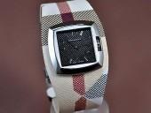 バーバリー 新作&送料込Burberry Signature Collection Black Swiss Quartz腕時計 J-BU0012