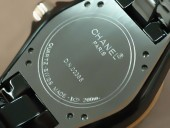 シャネル 新作&送料込 Chanel Watches J12 TT Black Ceramic Diam Markers Ladies Japanese Quartz腕時計 J-CH0036