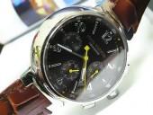 ルイヴィトン 新作 人気 新品 通販&送料込LV Tambourシリーズ7750クロノグラフ 7750腕時計 J-LV0003