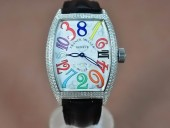 フランクミュラー 新作&送料込 Franck Muller Casablanca Men Diamond/SS Auto自動巻 J-FN0127