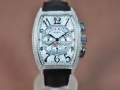 フランクミュラー 新作&送料込  Franck Muller Casablanca Chronograph SS Case Japan OS20腕時計J-FN0130