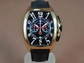 フランクミュラー 新作&送料込 Franck Muller Casablanca Chronograph RG Case Japan OS20腕時計 J-FN0124