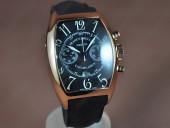 フランクミュラー 新作&送料込Franck Muller Casablanca Chrono RG/LE A-7750 腕時計J-FN0109