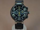 ルイヴィトン 新作 人気 新品 通販&送料込 腕時計 LV-7750PVD 44x16MM 1950 J-LV0027