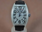 フランクミュラー 新作&送料込Franck Muller Casablanca Men Diamond/SS Swiss 2824自動巻き J-FN0138
