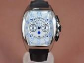 フランクミュラー 新作&送料込 Franck Muller Casablanca Chronograph SS Case Japan OS20腕時計 J-FN0123