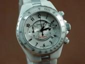 シャネル 新作&送料込Replica Chanel Watches Superleggera Black, Ceramic Working Chronos J-CH0039