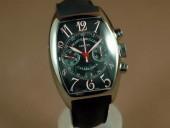 フランクミュラー 新作&送料込 Franck Muller Franck Muller Watches Casablanca Chrono SS/LE Black A-7750 腕時計 J-FN0097