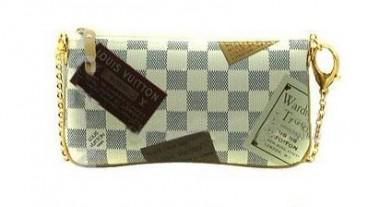 ルイヴィトン 新作 人気 新品 通販&送料込 ダミエ アズール アクセサリーポーチ N63078