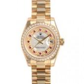 ロレックス 腕時計 新入荷 新作&送料込スーパーコピー オイスターパーペチュアル デイトジャスト 179138NMR