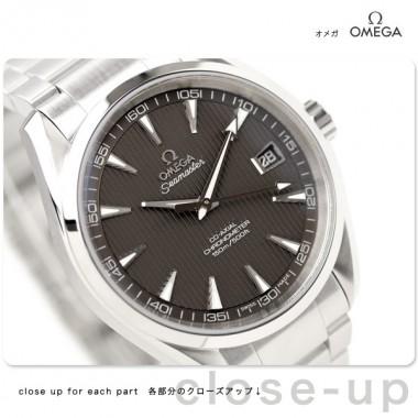 オメガ 腕時計 &送料込 OMEGA シーマスター アクアテラ メンズ 腕時計 デイト 自動巻 グレー231.10.42.21.06.001