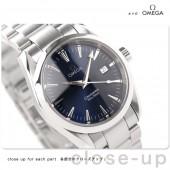 オメガ 腕時計 &送料込 OMEGA シーマスター アクアテラ ボーイズ 腕時計 デイト クォーツ ブルー2518.80