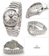 オメガ 腕時計 &送料込 OMEGA シーマスター アクアテラ ボーイズ 腕時計 デイト クォーツ シルバー2518.30