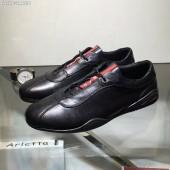 プラダ カジュアルシューズ 新作 新品同様超美品 通販&送料込 運動靴 男性用 PRA021