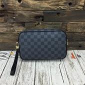 ルイヴィトン ポシェット・サンポール ダミエ・キャンバス カードケース  財布 ハンドバッグ ネイビー N41219
