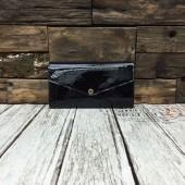 ルイヴィトン ポルトフォイユ・サラ モノグラム・ヴェルニ カードケース  小銭入れ 長財布 ブラック M90152