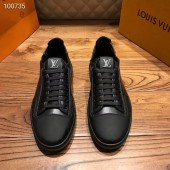 ルイヴィトン カジュアルシューズ 新作 本革 通販&送料込 運動靴 男性用 LVshoes065