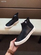 プラダ カジュアルシューズ 新作 本革 新品同様超美品 通販&送料込 運動靴 男性用 PRA042