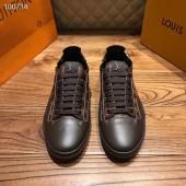 ルイヴィトン カジュアルシューズ 新作 本革 通販&送料込 運動靴 男性用 LVshoes067