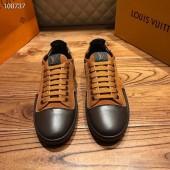 ルイヴィトン カジュアルシューズ 新作 本革 通販&送料込 運動靴 男性用 LVshoes063