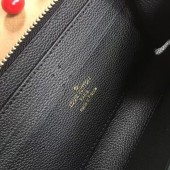 ルイヴィトン ポルトフォイユ・クレマンス カーフスキン モノグラム  カードケース 小銭入れ 長財布 ピンク M60171