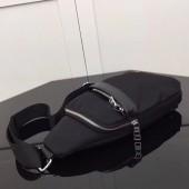 プラダ 新作&送料込&送料込 ロゴジャガード トートバッグ ブラウン PR-1B607