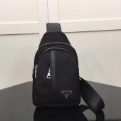 プラダ 新作&送料込&送料込 ロゴジャガード トートバッグ ブラウン PR-1B603