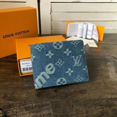 ルイヴィトン 新作 人気 新品 通販&送料込 モノグラム デニム ポルトフォイユ アメリア 財布 M60895