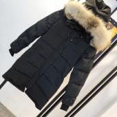 カナダグース レディース 黒色 新作&送料込人気 婦人服 ダウンジャケット canadagoose026